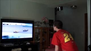 My Reaction of the 2014 NSCS Duck Commander 500 Finish!!!