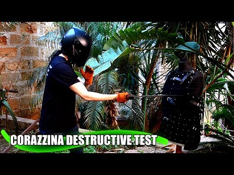 Corazzina 1.5mm Steel Destructive Test