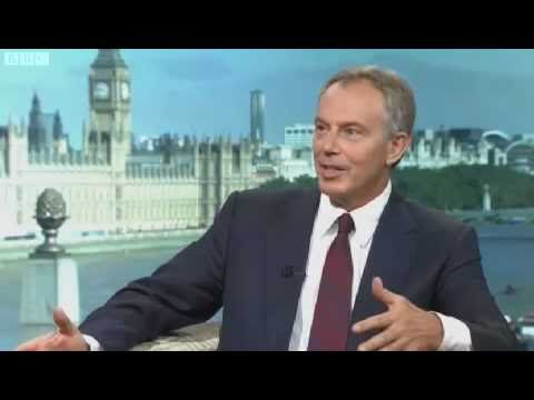 Tony Blair Interview - Andrew Marr (1/4)