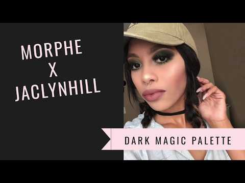 Morphe x jaclyn hill vault collection dark magic palette FIRST impression thumbnail