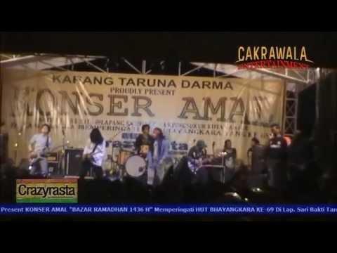 Crazy Rasta - Opening Song + Saat Ku Luka (Live) KONSER AMAL