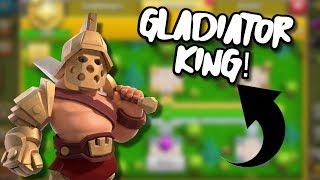 Odblokowałem Gladiator Kinga! | Clash Of Clans Polska