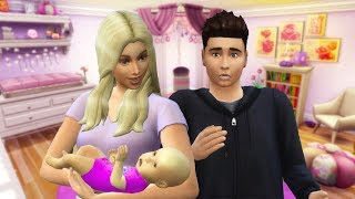 PrestonPlayz and I Have NEW BABY! (Sims 4)