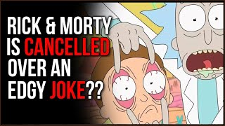 Rick And Morty Made An Edgy Joke, Are People BOYCOTTING The Show??