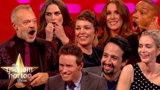 The Best Christmas Moments On The Graham Norton Show Part One