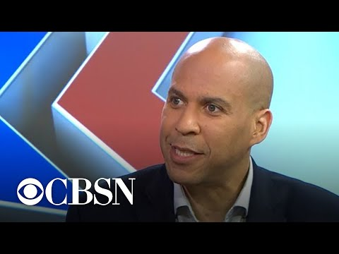 Senator Cory Booker on Israel, Gaza and Trump's foreign policy