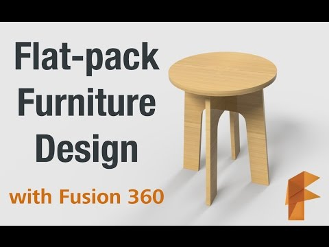 Flat-pack furniture design