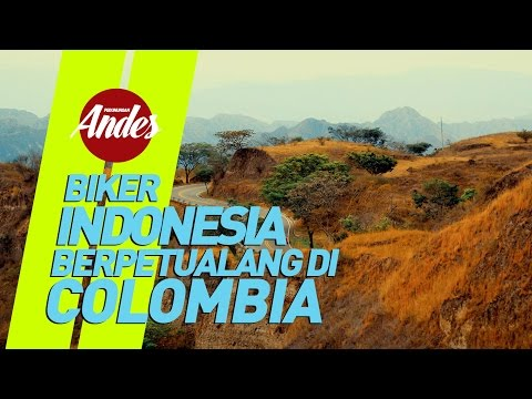 Indonesian Biker in Colombia | Andes 2016