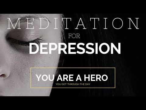 Meditation for Depression: You Got Through the Day