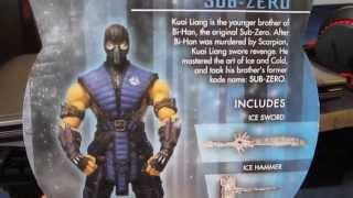 Огляд і розпакування фігурки SUB-ZERO Mortal Kombat X Mezco