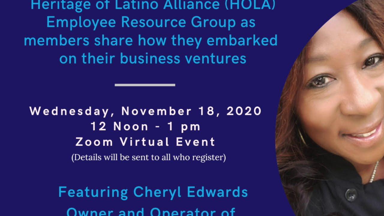 MSHS Heritage of Latino Alliance ERG first Entrepreneurship Series Event