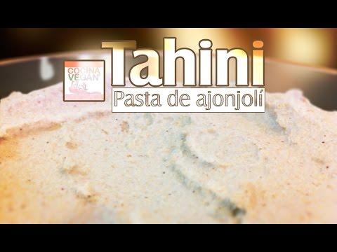 Salsa tahini - Cocina Vegan Fácil