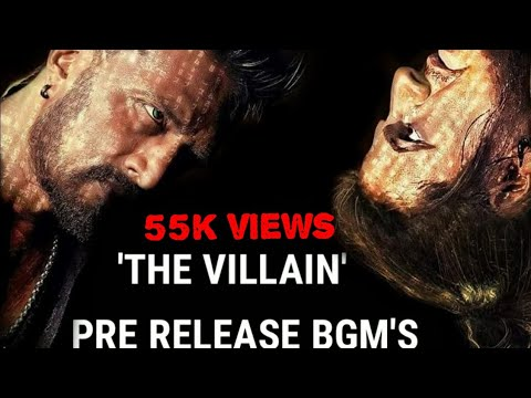 The villain pre release bgm's |Draj kumar | kichha sudeep | background music