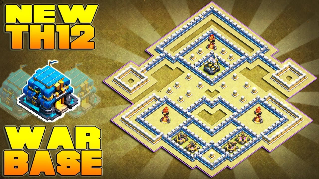 Th12 War Base Base Coc Th 12 Terkuat 2019 10