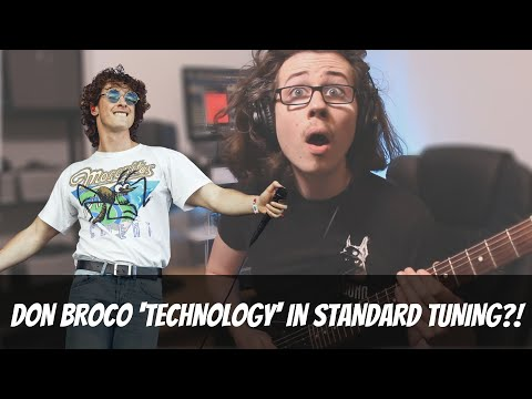 Don Broco - 'Technology' guitar cover in standard tuning!