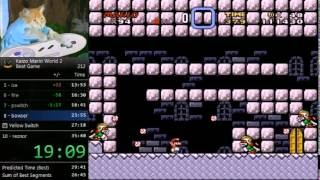 Kaizo Mario World 2 speedrun - 33:31