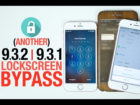 Another iOS 9.3.2/9.3.1 Lockscreen Bypass!
