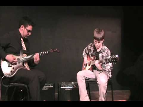 Nathan's Fall Guitar Recital 2011 - Master of Puppets by Metallica