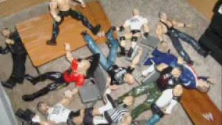 Stone Cold superplex into the crowd!