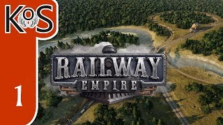 Railway Empire Ep 01: Campaign Ch 1 GREAT PLAINS - Let