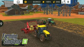 Fs18 farming simulator 18 - patates nasıl ekilir / potato planting