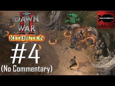 WH40K: Dawn of War 2: Retribution: Orks Campaign Playthrough Part 4 (Blood River, No Commentary) |