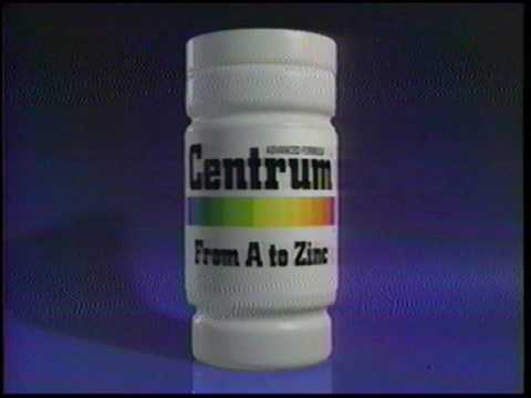 Centrum - Complete from A to Zinc - 1995 Commercial