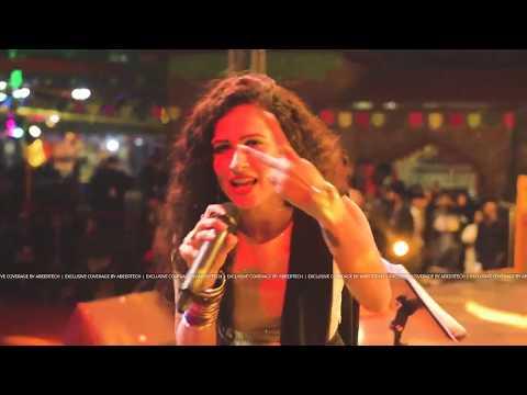 Akanksha Saini singer and actress performance in Surajkund International Crafts Mela 2020