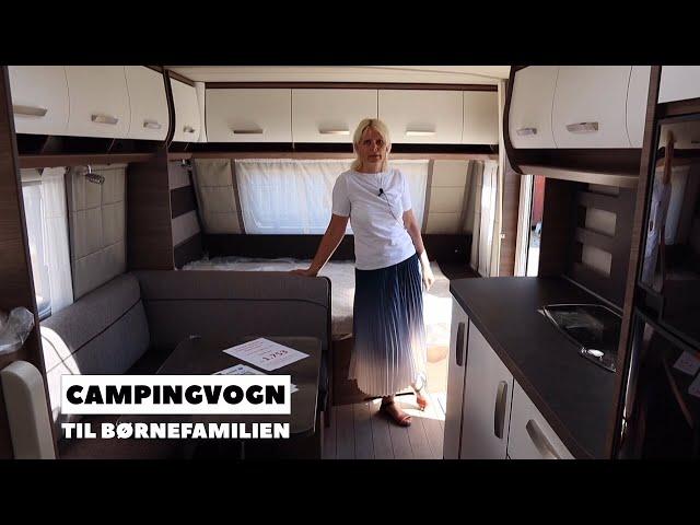 Campingvogn til børnefamilien