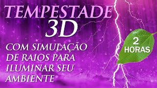 Video TEMPESTADE 3D - Som de Chuva para Dormir e Relaxar (2h00) download MP3, 3GP, MP4, WEBM, AVI, FLV Mei 2018