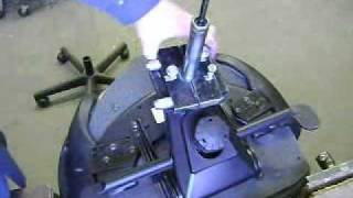Office chair repair Teknion gas cylinder