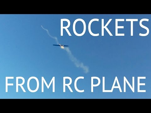 ROCKETS from RC airplane