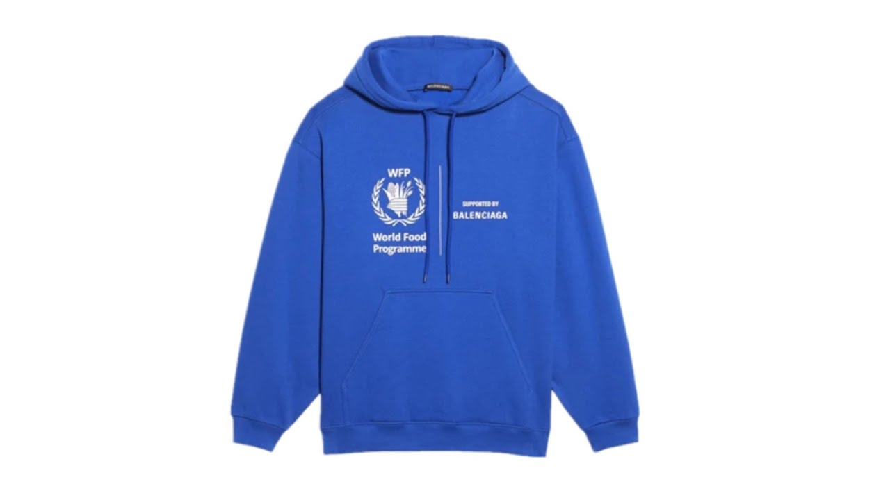 Blcg World Food Programme Hoodie Blue Youtube