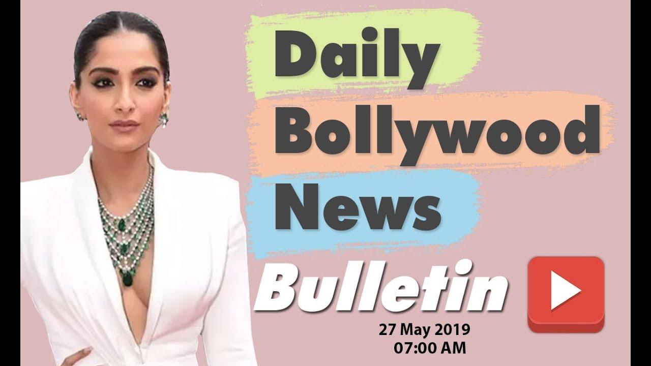 Latest Hindi Entertainment News From Bollywood | Sonam Kapoor | 27 May 2019 | 07:00 AM