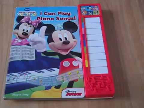 Mickey Mouse Clubhouse: I Can Play Piano Songs!