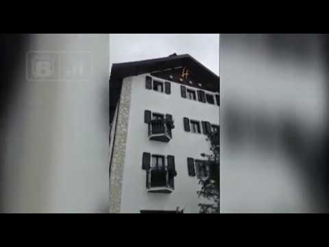 Hotel Rigopiano - le ultime immagini prima della tragedia