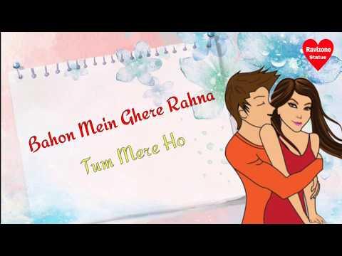 Dono Jahan Me Ek Jageh   Awesome Love Lyrics WhatsApp Status   RS