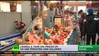 'Needs time': Crimea slowly stabilizes as prices, salaries, pensions rise