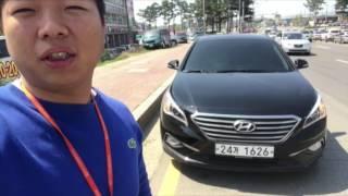 수원에서 진행된 LF쏘나타 중고차 출고후기입니다~!! - 발품중고차