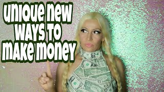 This video will show you the most unique and newest ways to make money online offline unusual jobs for making fun easy money. hear th...