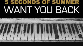 5 Seconds Of Summer - Want You Back (Clean Version)