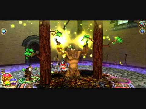 Wizard101-Solo Black Sun Pyramid (Lower Chamber) by