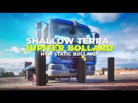 Frontier Pitts - Shallow Terra Jupiter Bollards IWA14 Crash Test