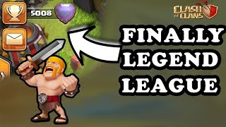 Finally Reached Legend League Townhall 12 😱