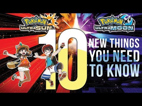 Pokemon Ultra Sun & Moon: 10 NEW Things You Need To Know