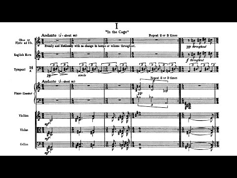 Charles Ives - A Set of Pieces for Theatre Orchestra (1906/1911)
