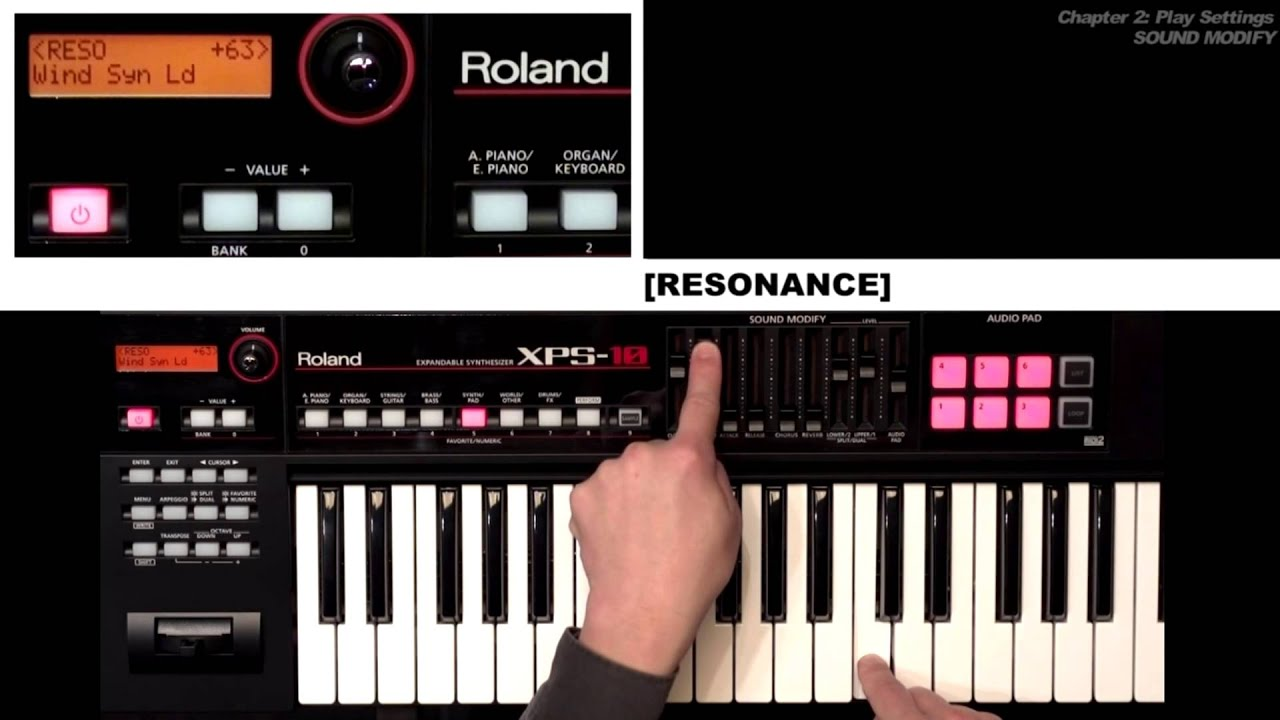 XPS-10 Expandable Synthesizer Tutorial Video Chapter 2: Play Settings