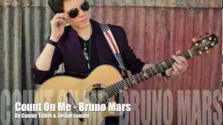 Count On Me - Jordan Jansen & Connie Talbot - Bruno Mars Cover