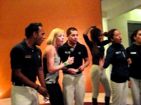 Karaoke night in Mexico
