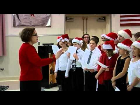 West Genesee Middle School perform at Syracuse VA Medical Center